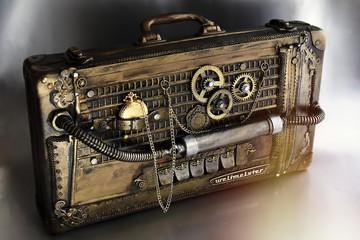 Steampunk valigia