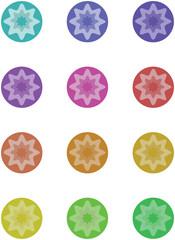 Circle geometric form