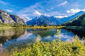 Wall Mural - Alpine Lake Almsee Austria