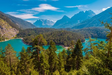 Wall Mural - Blindsee Mountain Lake