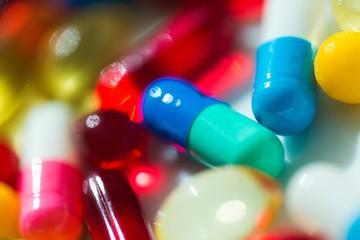 Color pills.