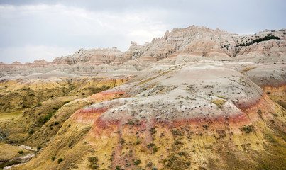 Geology Rock Formations Badlands National Park South Dakota