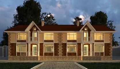 Building Photorealistic Render 3D Illustration