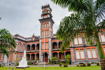 Queen's Royal College, Trinidad's most prestigious school, Port of Spain, Trinidad and Tobago, South America