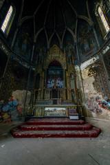 Dark Sanctuary with Altar - Abandoned Church