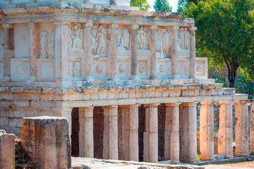 The Sebasteion Augusteum (Temple) in Aphrodisias