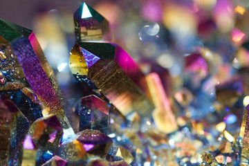 colored crystals
