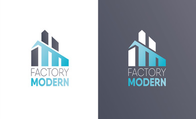 vector illustration logo. construction firm.