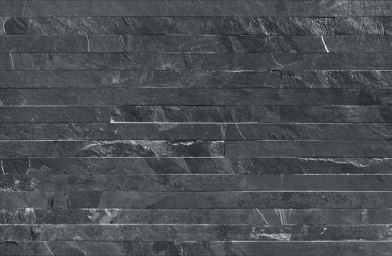 Strip parallels stone wall cladding seamless texture