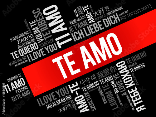 te amo i love you in spanish in different languages of the world