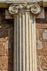Rom, ionische Säule