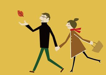 恋人 秋のイメージ