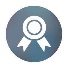 Farbiger Button - Medaille