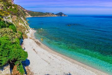 Wall Mural - Capo Bianco beach, Elba Island, Tuscany,Italy.