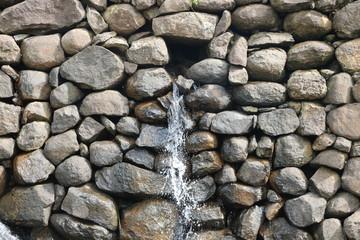 Small waterfall  at bilpudi (India)