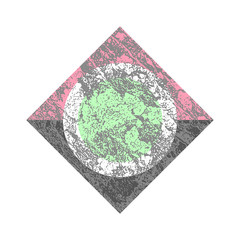 Simple Fashion Geometric Texture