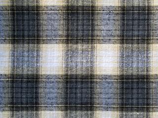 Black and Tan Plaid Textile