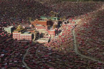 The Larung Gar Buddhist Academy