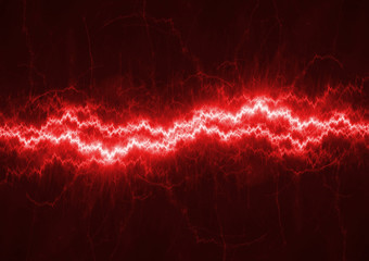 Red electrical background