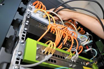 Netzwerkverteiler, Netzwerktechnik