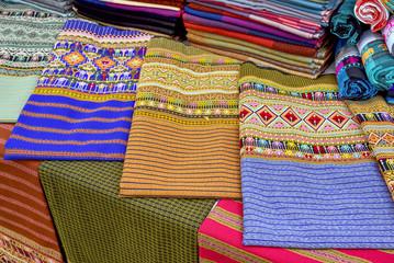 Pattern and art of Thai silk.