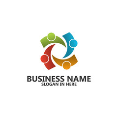 Group Logo Template Design