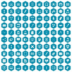 100 webdesign icons sapphirine violet