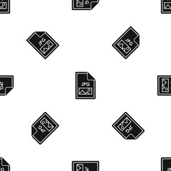 File JPG pattern seamless black