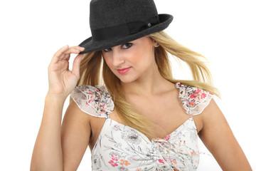 Sommerkleid und Hut