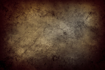 Brown grunge wall