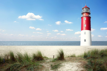 Canvas Prints Lighthouse Leuchtturm Panorama