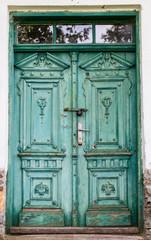 Old doors detail