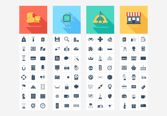 Grayscale Icons Pack 1