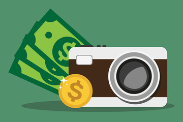 Camera and money