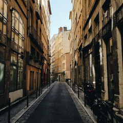Streets of Old Lyon
