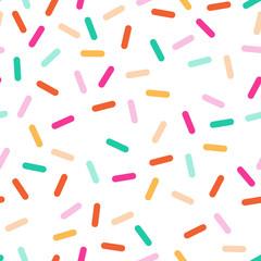 kbecca_vector_confetti_sprinkles_pinkpeach_pattern_seamless_tile