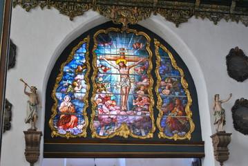 Witraż w Katedrze w Gdańsku