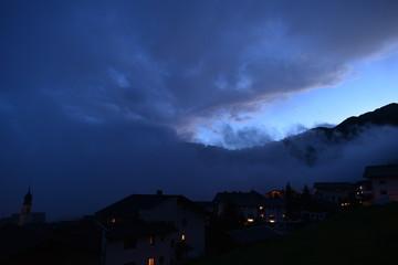 Nachtstimmung in Fiss - Tirol