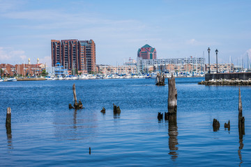 Fells Point/ Canton Waterfront in Baltimore, Maryland