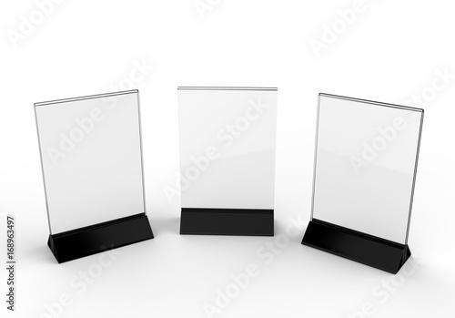 Clear plastic and acrylic table talkers promotional upright menu table tent top sign holder 11 x  sc 1 st  Fotolia & Clear plastic and acrylic table talkers promotional upright menu ...