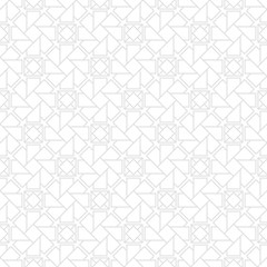 Light gray seamless pattern with geometric element