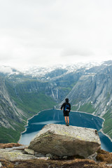 Trolltunga in Norway is fabulous beauty