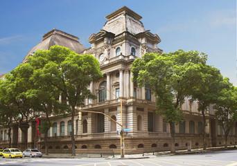 Бразилия. Рио-де-Жанейро. Национальный музей изобразительных искусств.