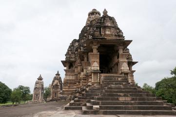 Hindu erotic temple in Khajuraho, India