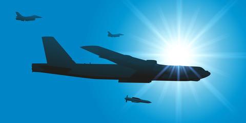 bombardier - guerre - avion - bombarder - américain - bombe - militaire - stratégie
