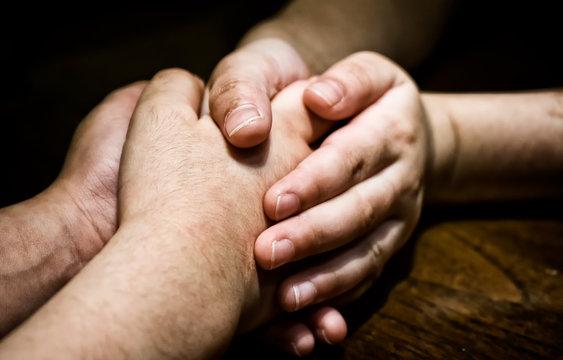 Child's Holding Hand