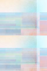 helle Pastell Töne -  Hellblau - Rosa Farbspiel - Geometrisches Abstraktes Design