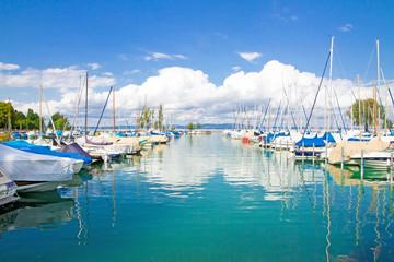 Hafen bei Romanshorn, Schweiz