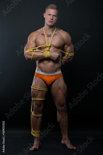 Nipple stretch hard nipple bondage