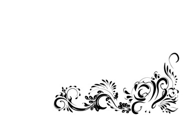 flower pattern element